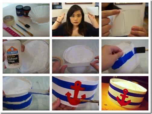 hacer sombrero marinero 2