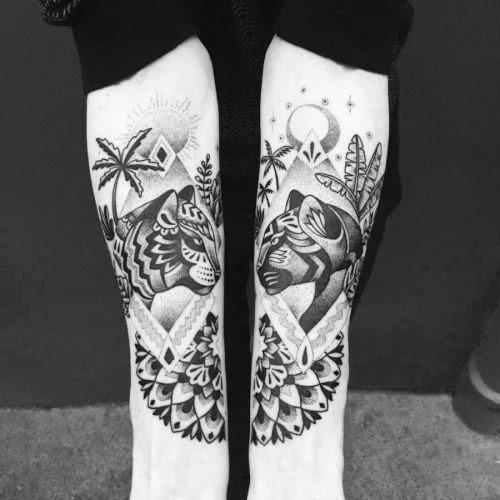 essas_intrincadas_tiger_e_panther_tatuagens