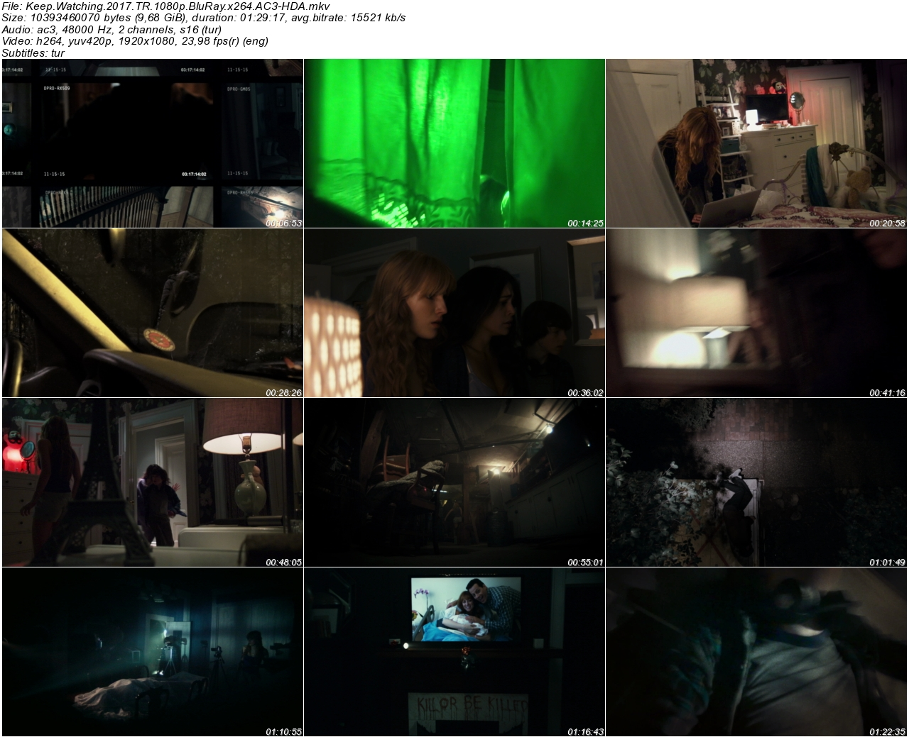 Keep Watching 2017 - 1080p 720p 480p - Türkçe Dublaj Tek Link indir