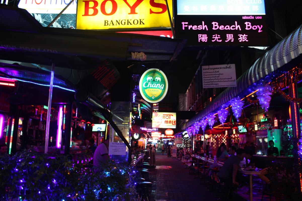 Gay areas bangkok
