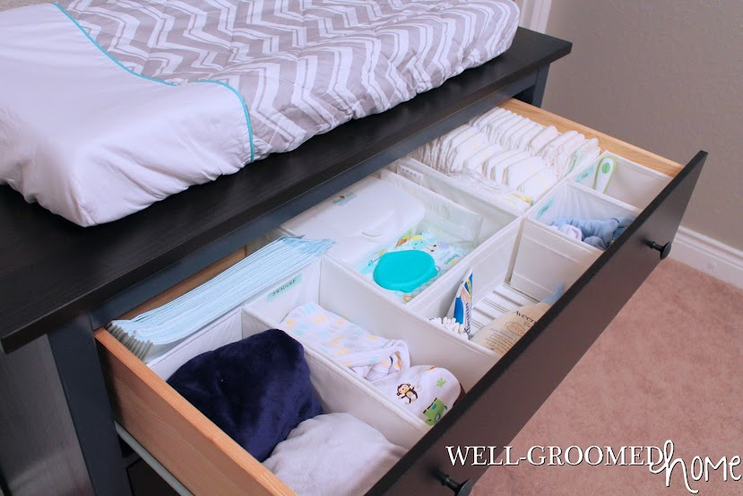 Organized Nursery Dresser Well Groomed Home