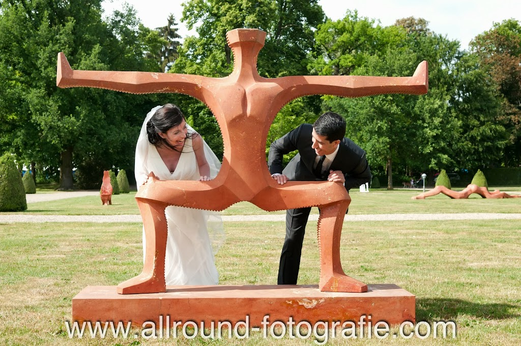 Bruidsreportage (Trouwfotograaf) - Foto van bruidspaar - 049