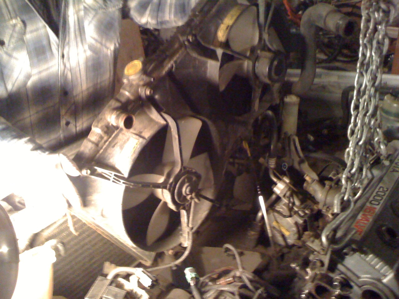 88 Camry 3sfe   The Saga Continues: Day 1 of engine swap