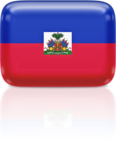 Haitian flag clipart rectangular