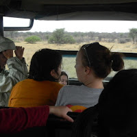 On the Game Drive at the Khama Rhino Sanctuary