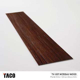 Vinyl Taco TV-007 Merbau Wood