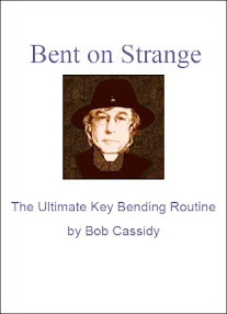 Cover of Bob Cassidy's Book Bent On Strange