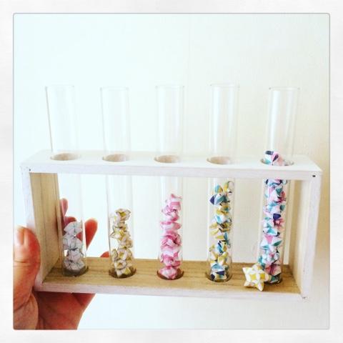 diy d co tube essai et origami la fabrique eclectique. Black Bedroom Furniture Sets. Home Design Ideas