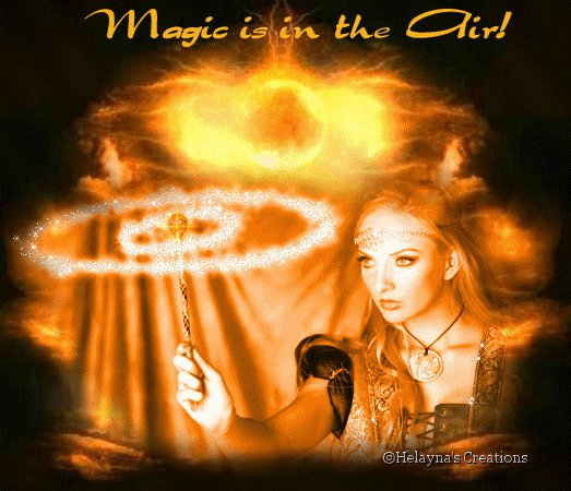 Magic Is In The Air, Magic And Spells