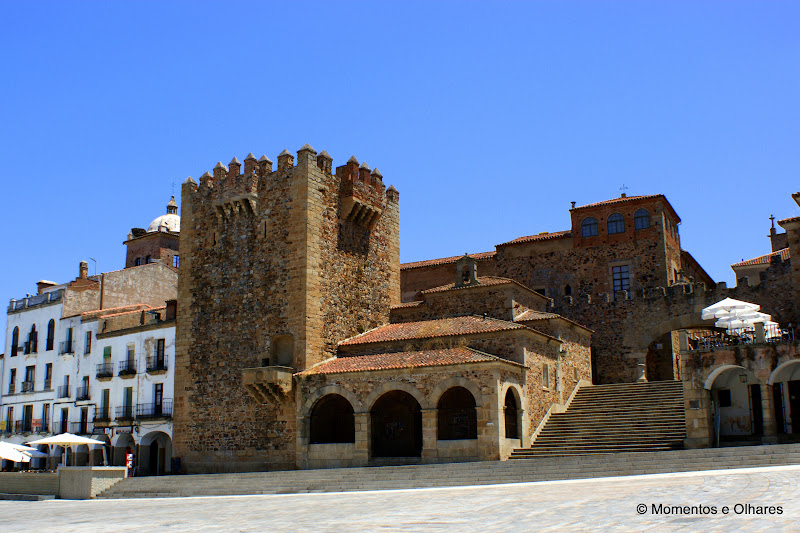 Cáceres, Plaza Mayor