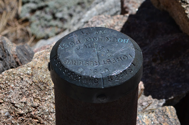 boundary post no. 21