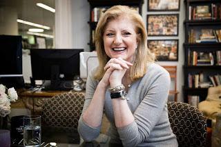 Arianna Huffington, co-fondatrice du Huffington Post quitte ses fonctions de rédactrice en chef .