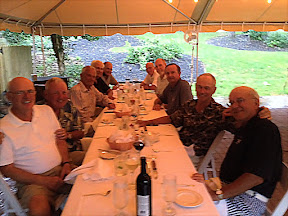 the Dinner photo with Pat Kenny, John Thomasson, Steve Darrah, Bob Radcliffe, Walt Kulbacki, Tom Carll, Steve Ammon, Barrie Zais, Chris Needles, and Bob Harter