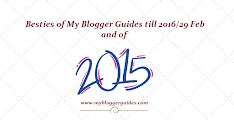 Blogger Guides, Best Articles 2015-1016