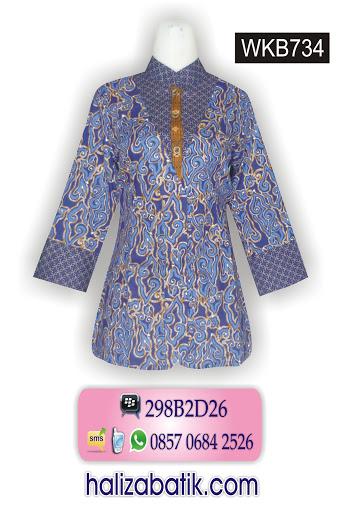 desain baju batik modern, bisnis baju batik, gambar baju batik