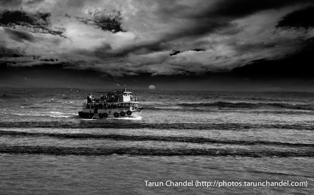 Sunset Ferry, Tarun Chandel Photoblog