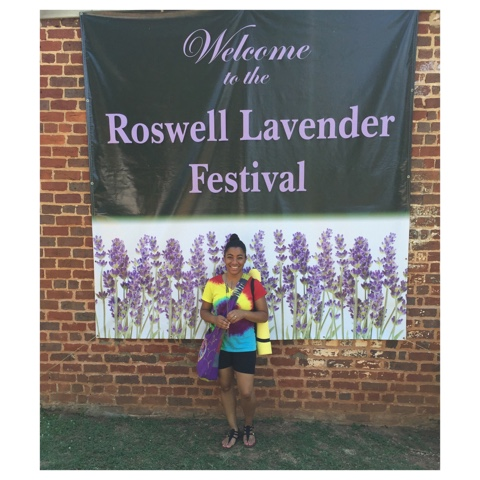 roswell georgia lavender festival top atlanta georgia black mom mommy motherhood blogger