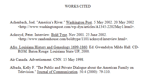 Apa citation pages