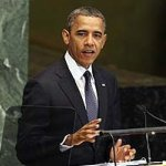 Obama addressing the General Assembly, Sep 25, 2012