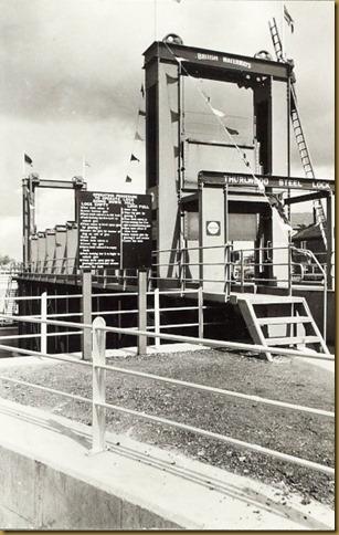 Steel Lock opening