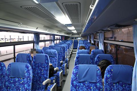 成田空港交通「Tokyo Suttle」 ・524 車内