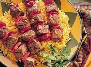 Spicy Portuguese Beef Steak Kabobs Recipe