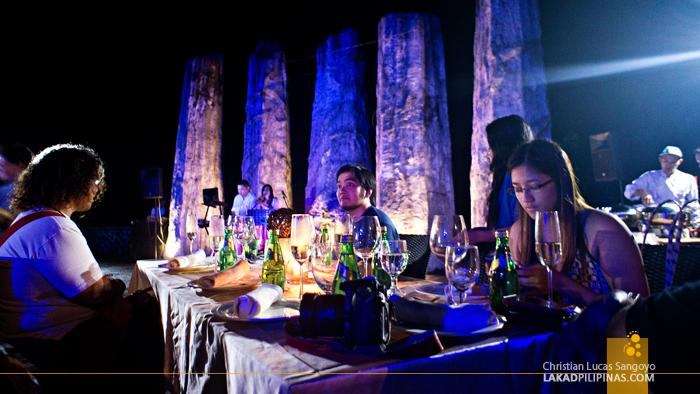 Ampitheater Dinner at Albay's Misibis Bay