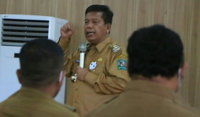 Rakoor Pemerintahan, Bupati Simalungun: Membangun Simalungun Harus Gotong-royong (Marharoan Bolon)
