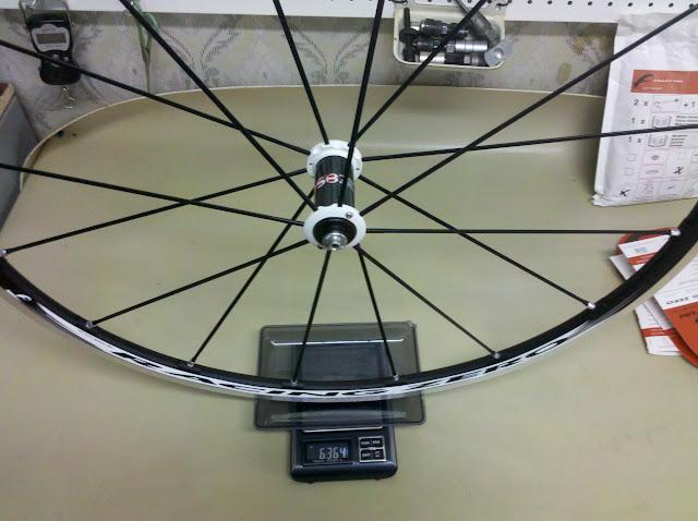 Переднее колесо Fulcrum Racing Zero - вес