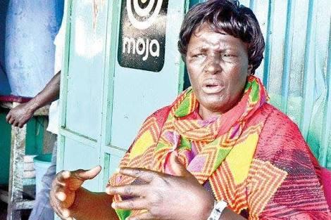 Mama oliech mother of popular football star Dennis oliech is dead