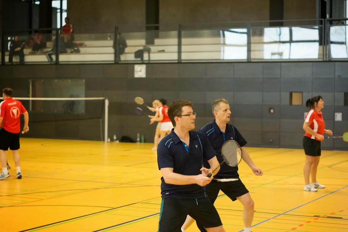 Georg und Mathias im ersten Doppel