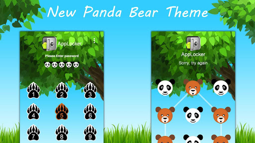 Bear Theme for Mega App Lock
