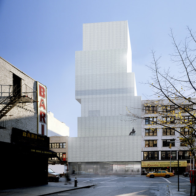 New Museum of Contemporary Art design by SANAA