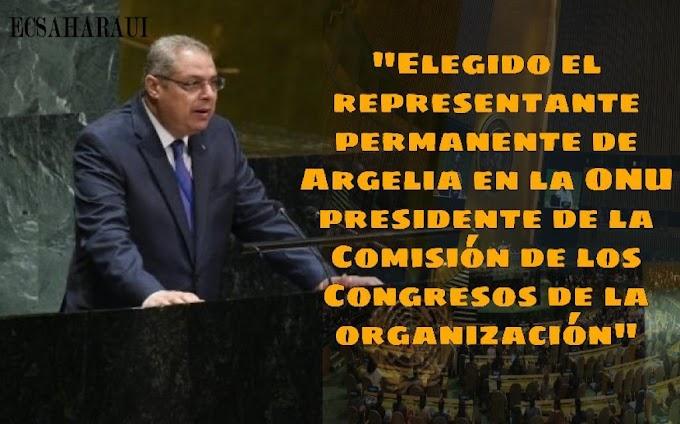 El representante permanente de Argelia ante la ONU elegido como presidente del  Comité de Conferencias de la Asamblea General