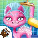 Cat Hair Salon Birthday Party - Virtual Kitty Care icon