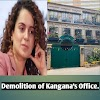 BMC team broke the office of Bollywood actress Kangana Ranaut. Kangana reaches High Court.