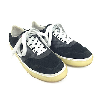 Moschino Suede & Leather Sneakers