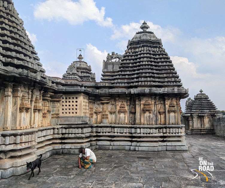 A moment in time - Lakshmi Devi temple, Doddagaddavalli