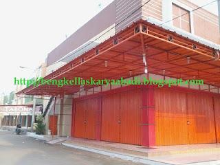 pintu toko,garasi/ folding gate