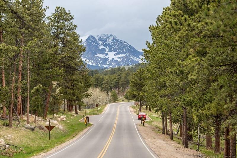 Rocky Mountain National Park bear Lake rd