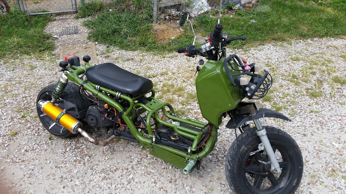 139QMB Ecotrons EFI conversion   It Is The Ride