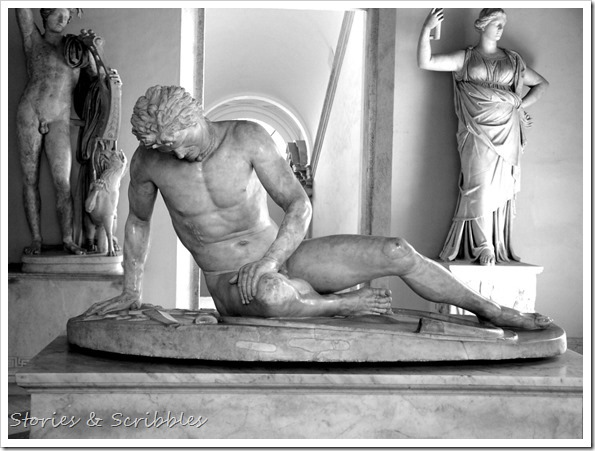 The Dying Gaul (Capitoline  Museums, Rome)