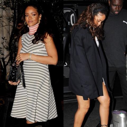 Rihanna in Pre-Fall 2015 Dior