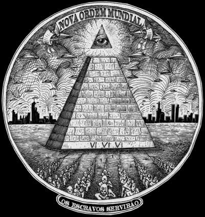 Nova Ordem Mundial · 666 · Os Escravos Servirão