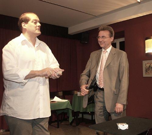 Angelo Stagnaro 2005 Seminar, Angelo Stagnaro