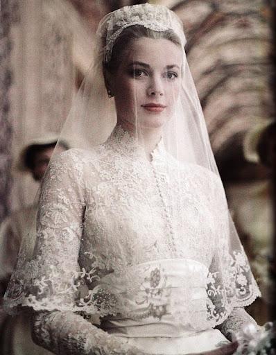 Vestido de novia de SAS la princesa Gracia de Mónaco