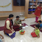 Vegetable and Fruit Vendor Dramatization by Nursery B & D [ 2015-16 ]