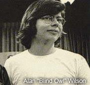 Алан Уилсон по прозвищу «Слепой сыч»