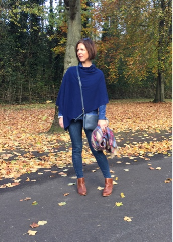 The Woolovers Cashmere Poncho