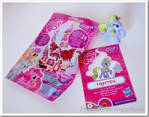 A My Little Pony blind bag opening.